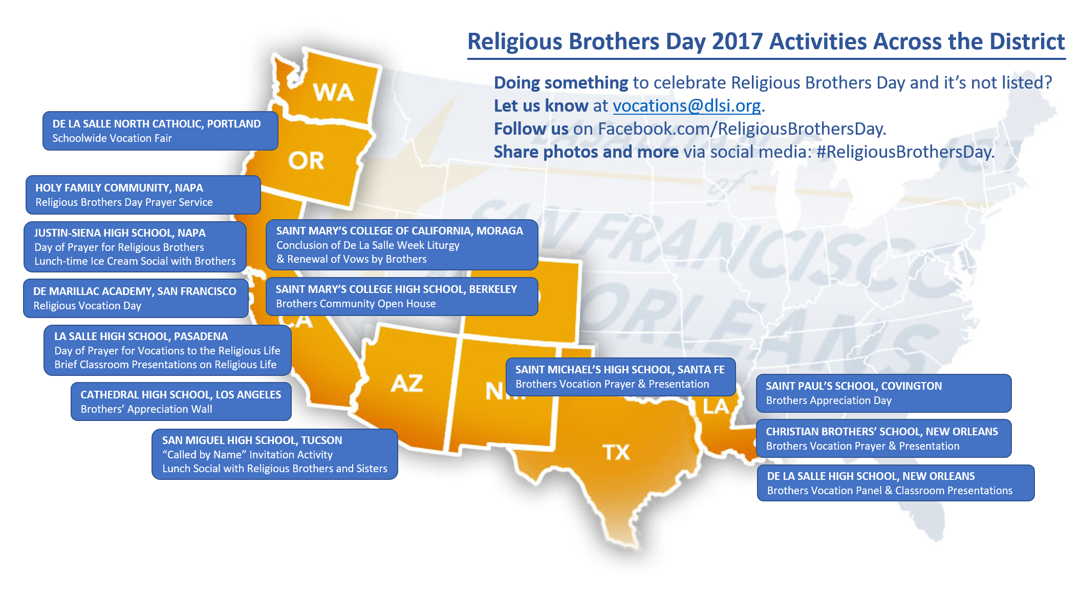 RBD 2017 Activities Map